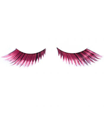 Cosplay eyelashes Pink Black