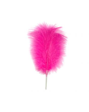 Pinker Kunstfeder Bündel