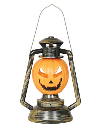 Pumpkin Pit Lamp With Light & Sound 32cm