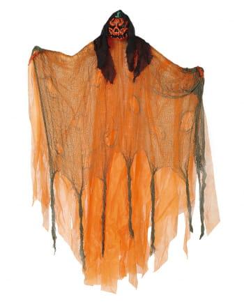 Pumpkin Hanging Figure For Halloween Deco 120cm