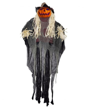 Pumpkin Scarecrow With LED Hanging Figure 180cm