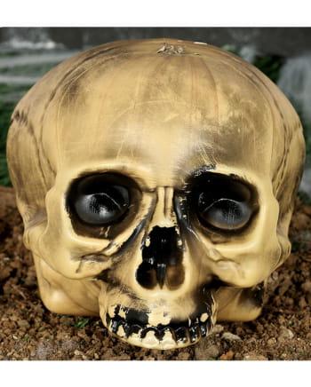 Kunststoff Totenschädel ohne Kiefer 20cm