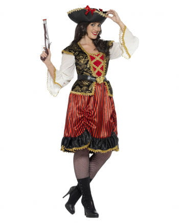 Curvy Pirate Lady Plus Size Costume