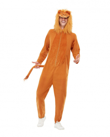 Cuddly Lion Jumpsuit For Adults