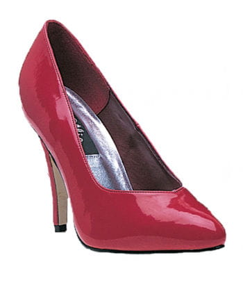 Rote Lack Pumps