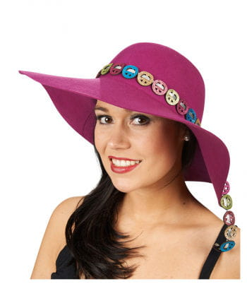 Lady Hat With Peace Symbol