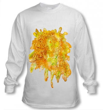 Oktoberfest Long Sleeve Top with Puke Stain