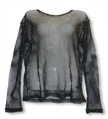 Long Sleeved Fishnet Shirt Size XL