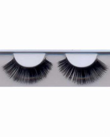 Long black eyelashes