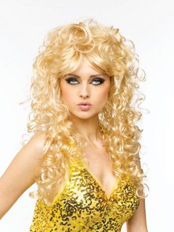 Langhaar Perücke Chantal blond