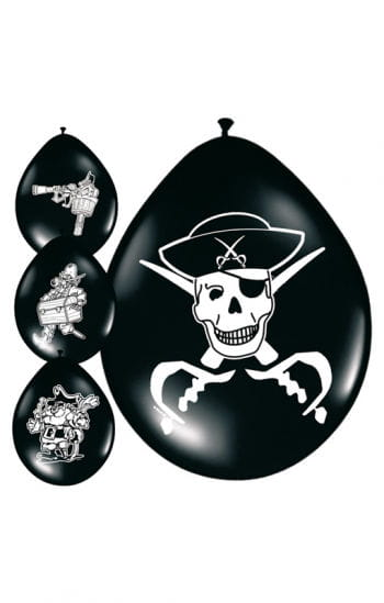 Piraten Luftballons mit Motiv
