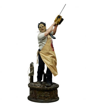 Leatherface Deluxe Format Statue