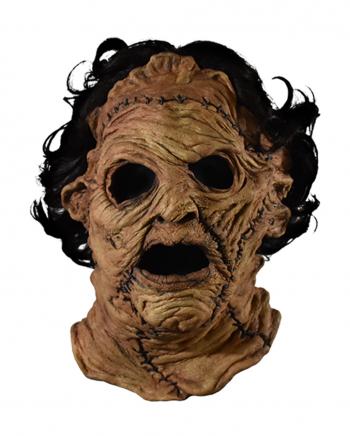 Leatherface Vollkopf Latex Maske