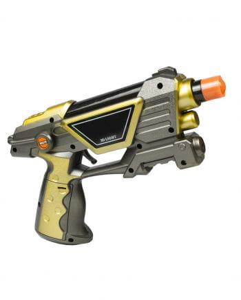 LED Light & Sound 3D Space Pistole