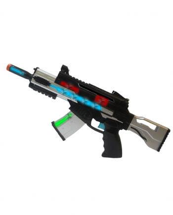 LED Light & Sound Machine Gun Blaster