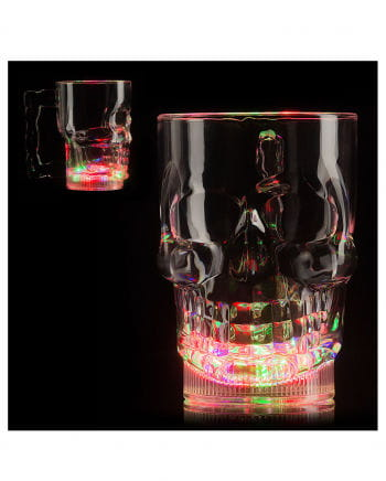 LED Totenkopfkrug 400 ml