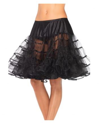 Knielanger Petticoat schwarz
