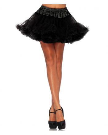Schwarzer Leg Avenue Petticoat