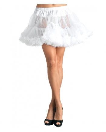 Weißer Leg Avenue Petticoat