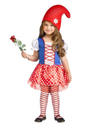 Little Miss Gnome Kinderkostüm