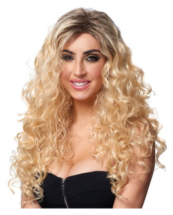 Blonde Locken Latina Perücke