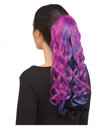 Curly Unicorn Hairpiece Purple