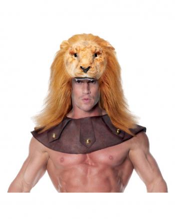 Löwen Kopfschmuck für Herren
