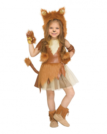Lion Girl Child Costume