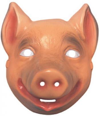 Rosa Schweinchen Maske