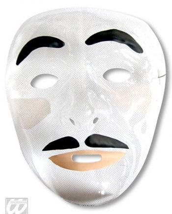 Men face mask with beard
