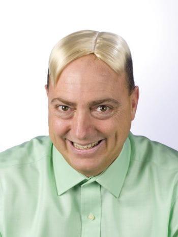 MännerToupet blond