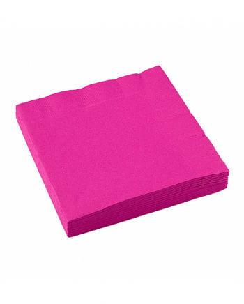 Pinke Papierservietten 20 St.