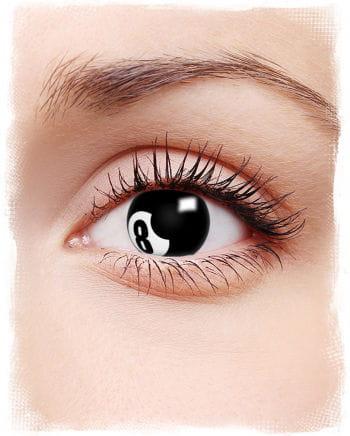 8 Ball Contact Lenses