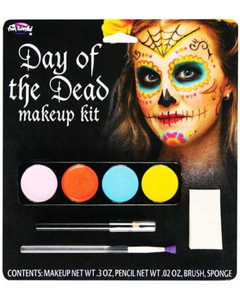 Makeup Kit Day of the dead ladies