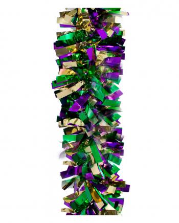 Mardis Gras Glitzergirlande 450 cm
