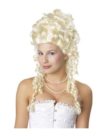 Weißblonde Marie Antoinette Perücke