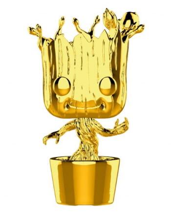 Marvel Groot Chrome Funko Pop! Figur gold