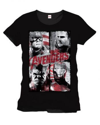Lizenziertes Marvel Comics Avengers T-Shirt