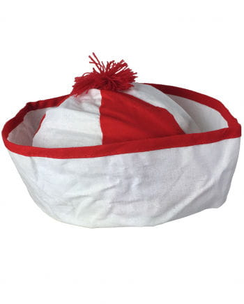 Bobby Sailor Hat Red-white