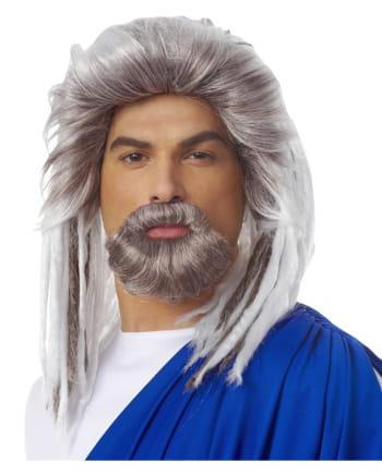 König der Meere Perücke mit Bart