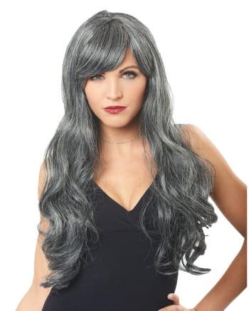 Mottled Ghost Bride Wig Grey