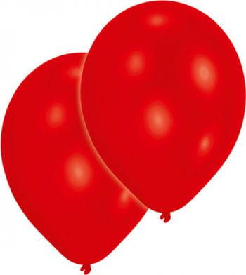 Metallic red balloons 50 St.