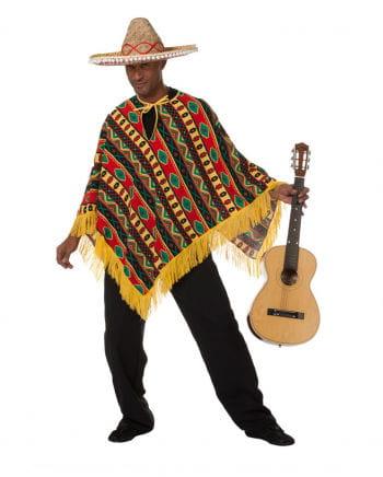 Bunter Mexikaner Higuitta Poncho