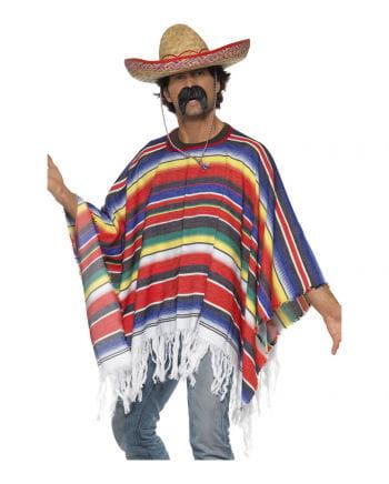 Poncho Kostüm bunt