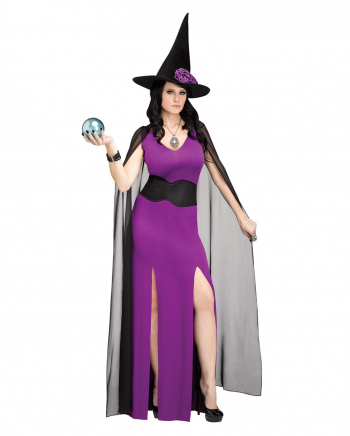Midnight Magic Witch Costume For Adults