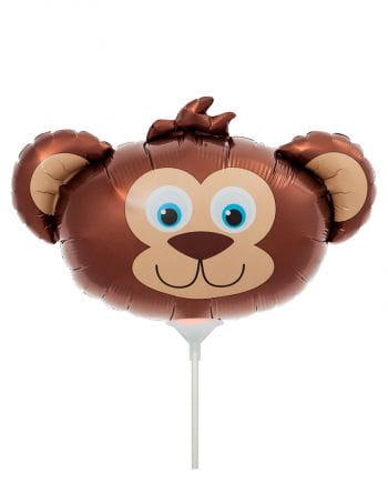 Mini-Folienballon mit Bär als Motiv