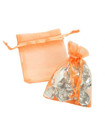 Mini Organza bag orange 25 St.