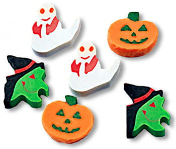 Halloween Decoration Mini Erasers Big