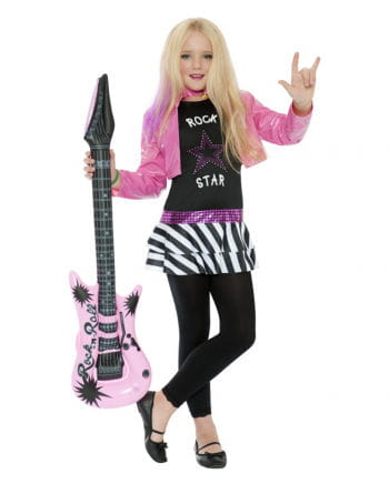 Mini Rockstar Kostüm für Mädchen