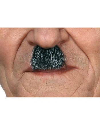 Dunkelgrauer Mini Schnurrbart